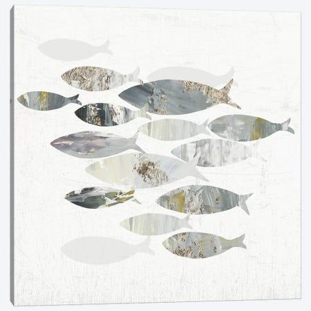 Gone Fishing II  Canvas Print #AWI347} by Aimee Wilson Canvas Art