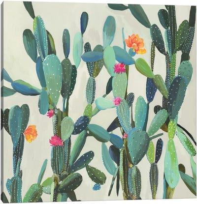 Cactus Garden Canvas Art Print