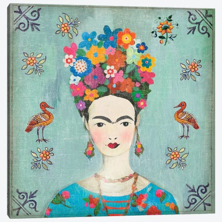 Farida Canvas Print #AWI353} by Aimee Wilson Canvas Art