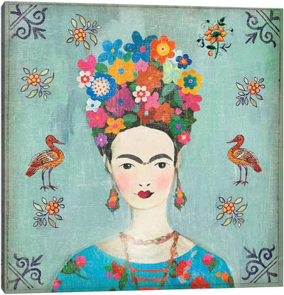 Farida Canvas Art Print