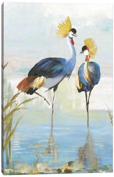 Heron Pairing Canvas Art Print