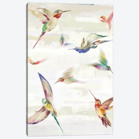 Humming II Canvas Print #AWI360} by Aimee Wilson Art Print
