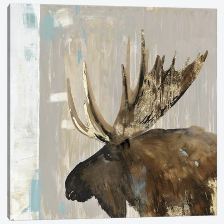 Moose Tails I Canvas Print #AWI361} by Aimee Wilson Art Print
