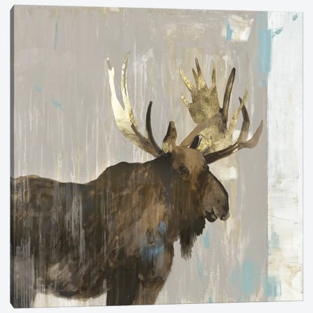 Moose Tails II Canvas Print #AWI362} by Aimee Wilson Art Print