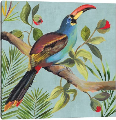 Paradise Toucan I Canvas Art Print
