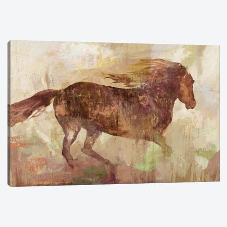 Run Free Canvas Print #AWI366} by Aimee Wilson Canvas Artwork