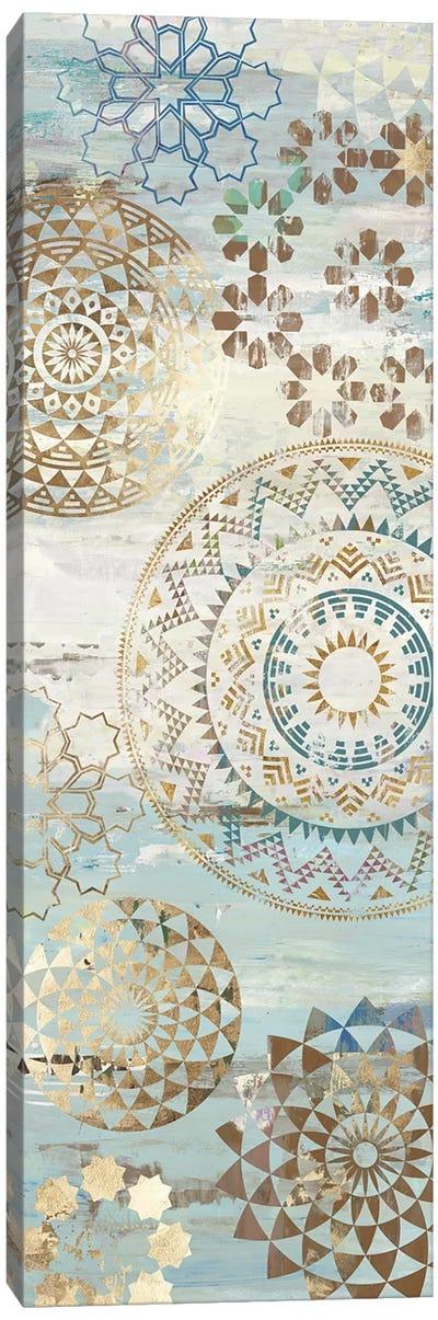 Blue Mosaic I  Canvas Art Print