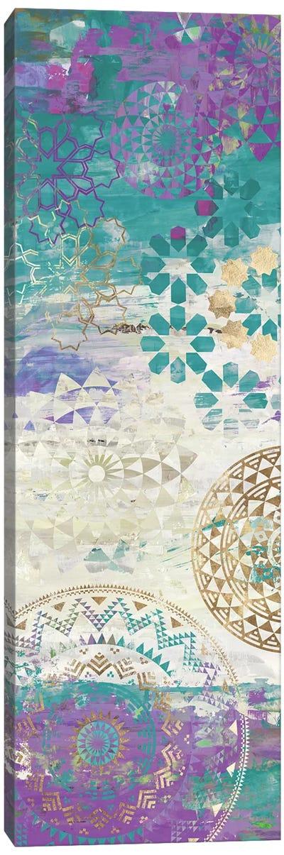Purple Mosaic I  Canvas Art Print