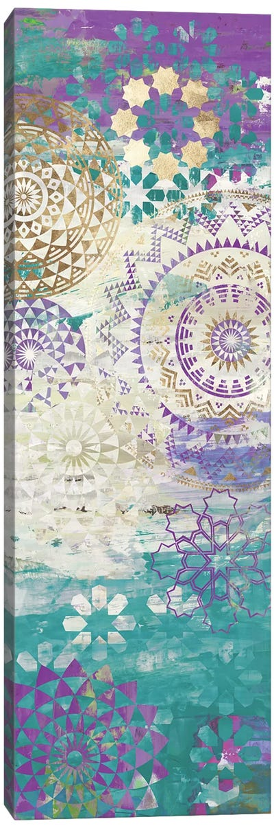 Purple Mosaic II  Canvas Art Print