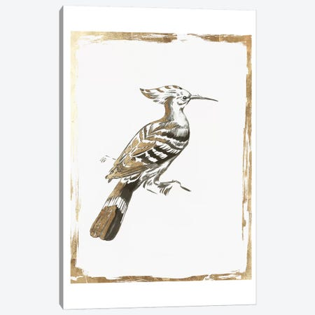 Golden Bird I  Canvas Print #AWI379} by Aimee Wilson Canvas Wall Art