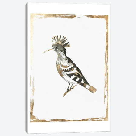 Golden Bird II  Canvas Print #AWI380} by Aimee Wilson Canvas Art Print