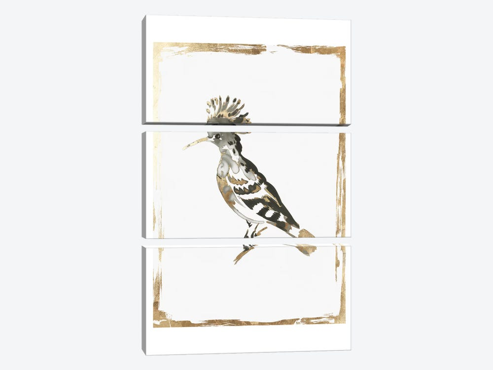 Golden Bird II  by Aimee Wilson 3-piece Canvas Art Print