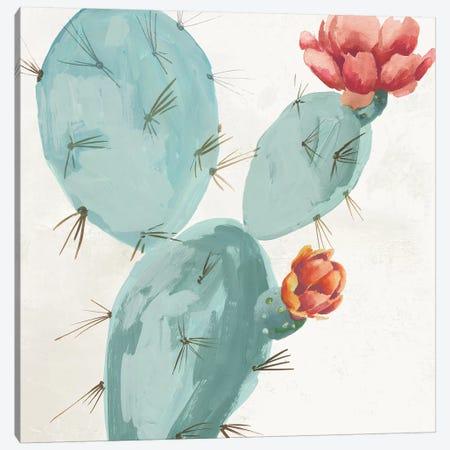 Bunny Ears Cactus  Canvas Print #AWI384} by Aimee Wilson Canvas Art