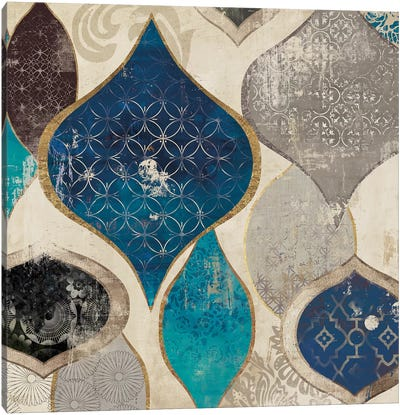 Blue Rhapsody I Canvas Art Print