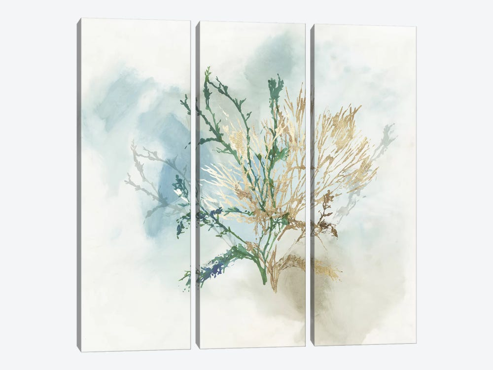 Green Coral II  by Aimee Wilson 3-piece Art Print