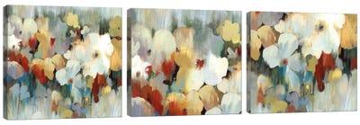 Prime Noon Triptych Canvas Art Print