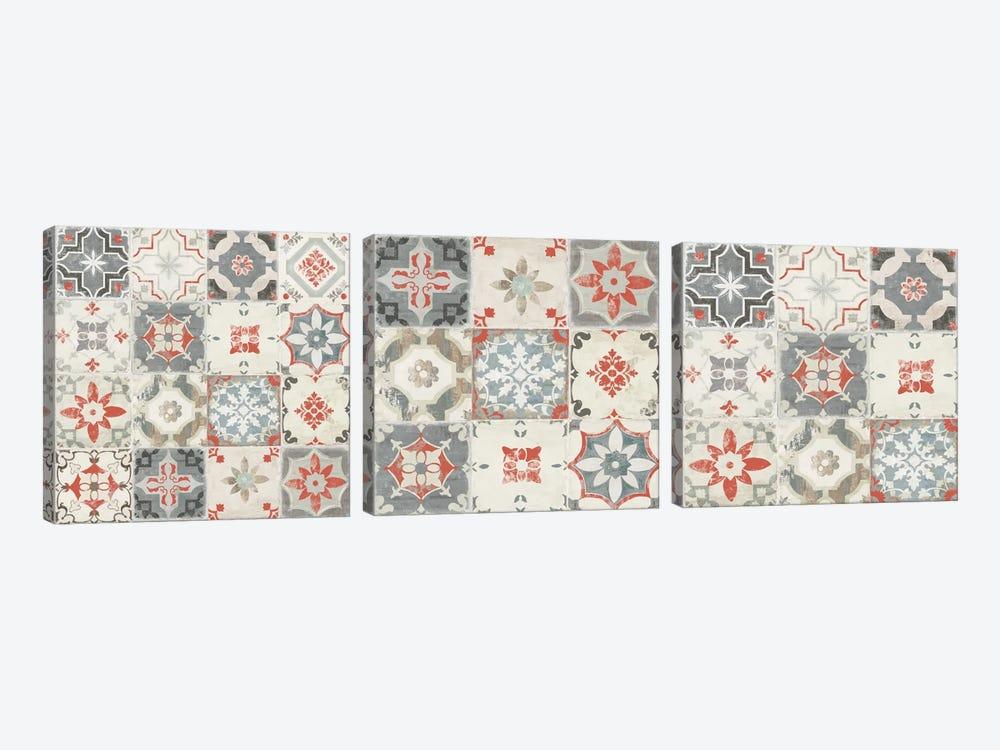 Libson Tiles Triptych by Aimee Wilson 3-piece Art Print