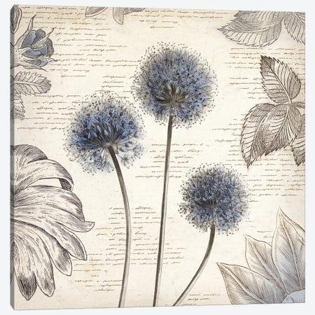 Blushing Blue I Canvas Print #AWI40} by Aimee Wilson Canvas Art