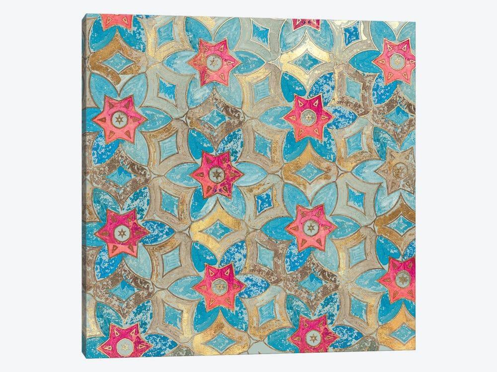 Boho Tile I by Aimee Wilson 1-piece Canvas Wall Art