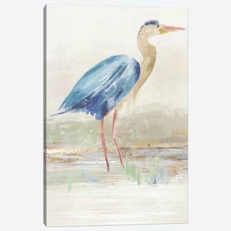 Heron in Lake  Canvas Print #AWI447} by Aimee Wilson Canvas Print