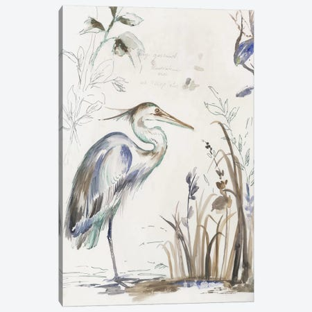 Sunset Echo Canvas Print #AWI455} by Aimee Wilson Canvas Artwork