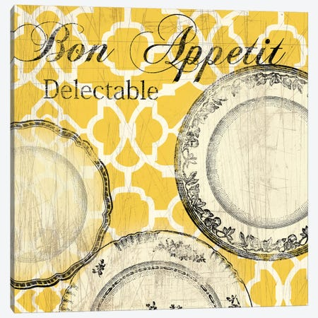 Bon Appetite: Delectable Canvas Print #AWI45} by Aimee Wilson Art Print