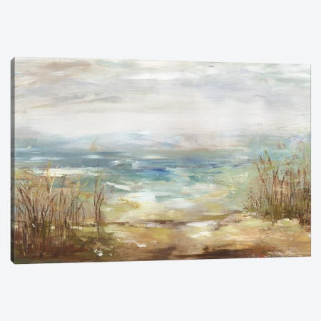 Parting Shores Canvas Print #AWI472} by Aimee Wilson Canvas Art Print