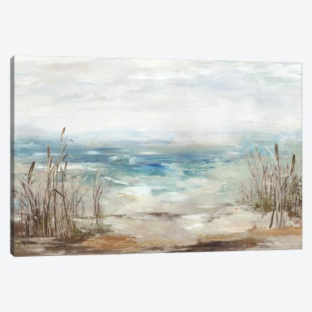 Waves From A Distance Canvas Print #AWI477} by Aimee Wilson Canvas Artwork