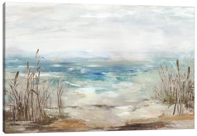 Waves From A Distance Canvas Art Print