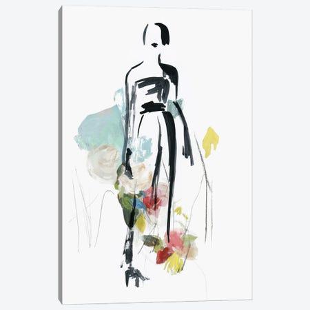Fashion Flowers III Canvas Print #AWI482} by Aimee Wilson Canvas Wall Art