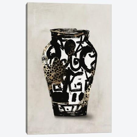 Golden Vase I Canvas Print #AWI485} by Aimee Wilson Canvas Art Print