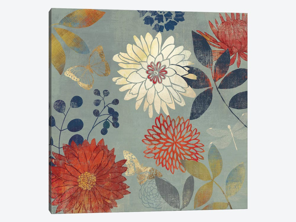 Botanical Garden II 1-piece Canvas Wall Art