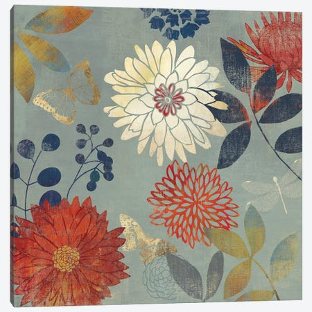 Botanical Garden II Canvas Print #AWI48} by Aimee Wilson Canvas Art