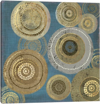 Aboriginal Dot I Canvas Art Print