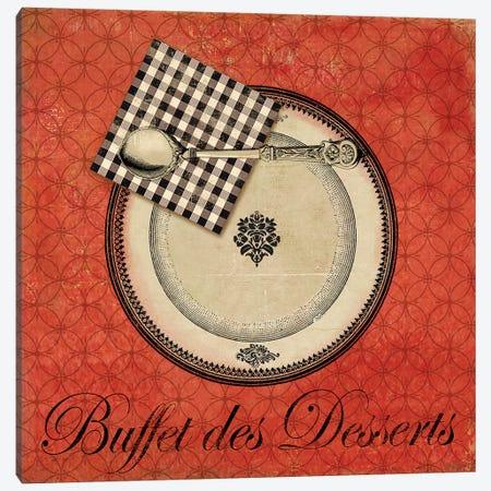 Buffet de Desserts Canvas Print #AWI50} by Aimee Wilson Canvas Art Print