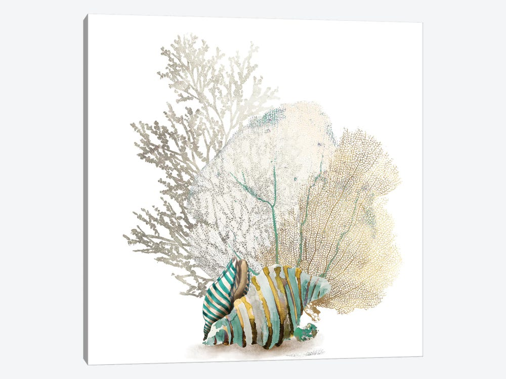Coral II by Aimee Wilson 1-piece Canvas Wall Art
