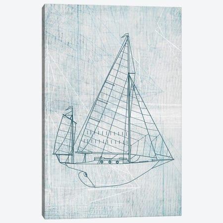 Daniela's Sailboat I Canvas Print #AWI77} by Aimee Wilson Canvas Artwork