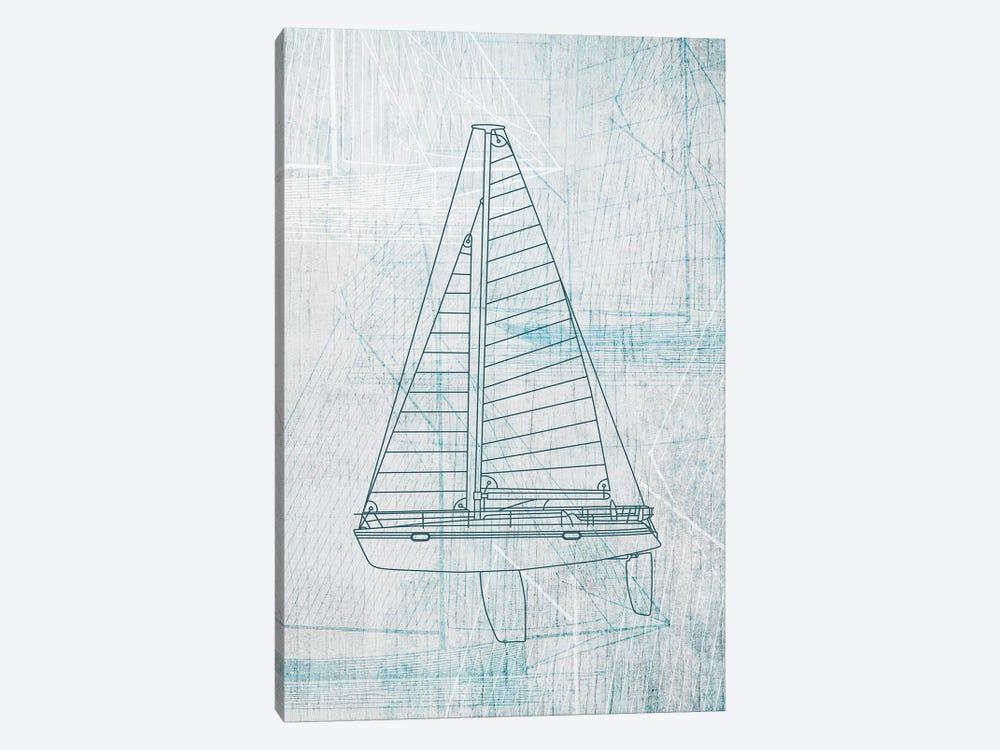 Daniela's Sailboat II by Aimee Wilson 1-piece Canvas Art Print