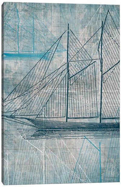 Daniela's Sailboat III Canvas Art Print