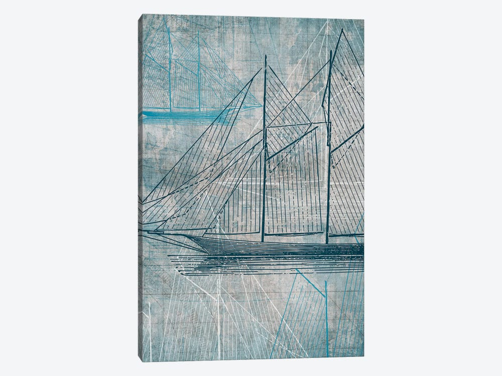 Daniela's Sailboat III by Aimee Wilson 1-piece Canvas Artwork