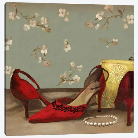 Accessories II Canvas Print #AWI7} by Aimee Wilson Art Print