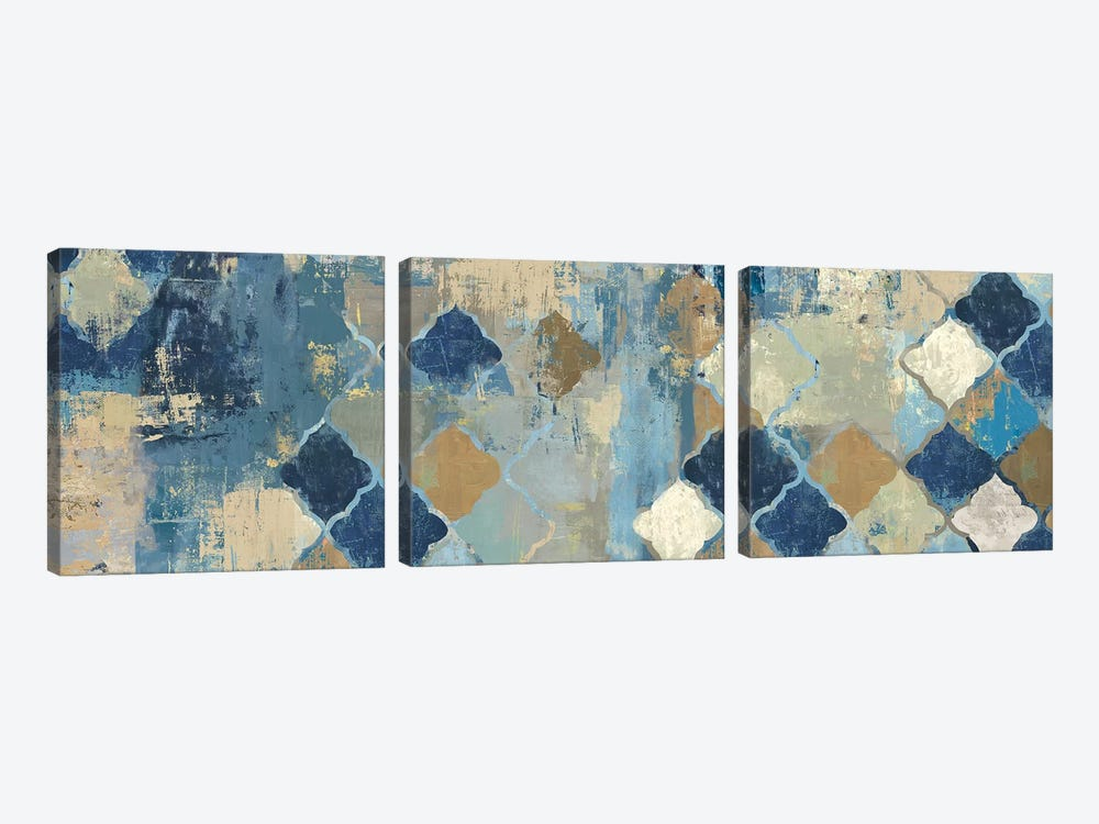 Essaouira I by Aimee Wilson 3-piece Canvas Art