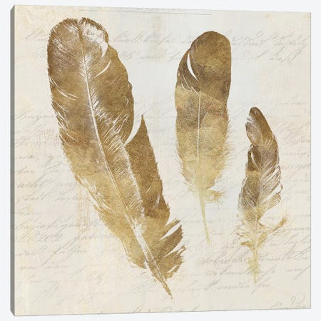 Feather Softly I Canvas Print #AWI91} by Aimee Wilson Canvas Art Print