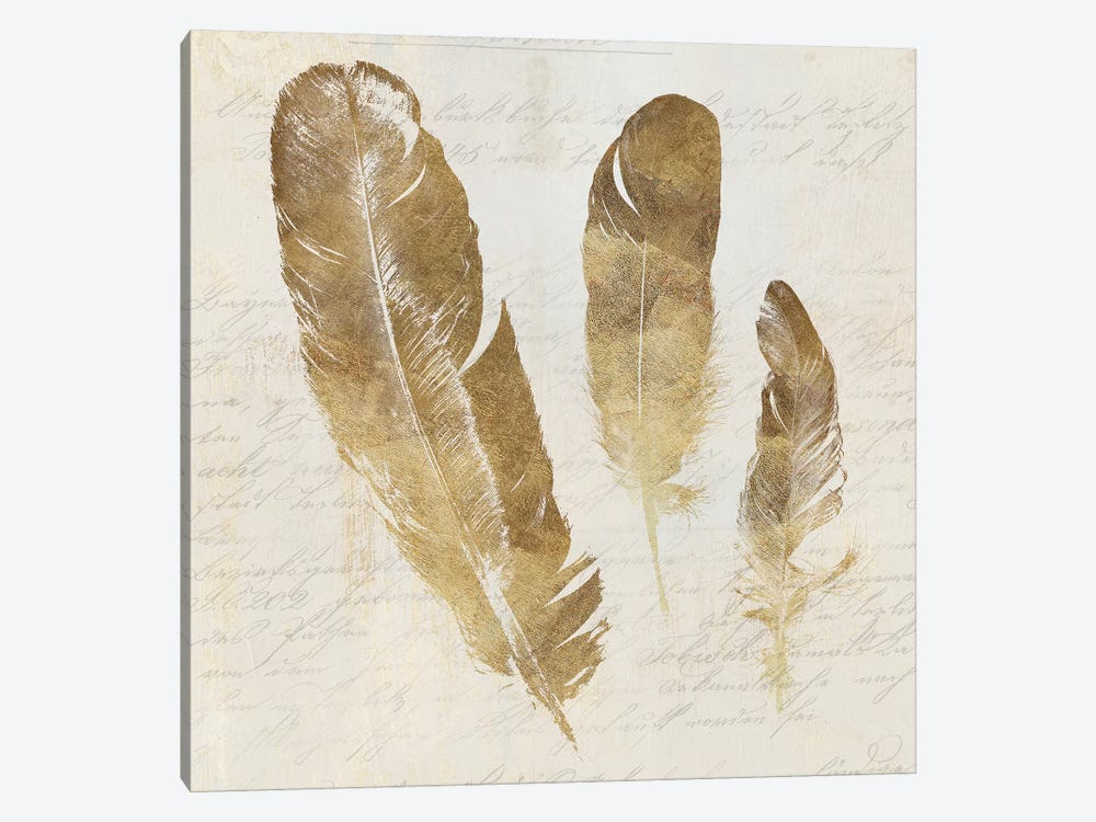 Feather Softly I by Aimee Wilson 1-piece Canvas Art