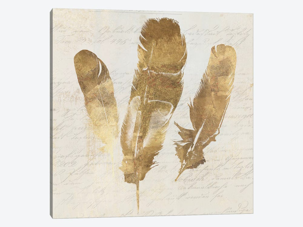Feather Softly II by Aimee Wilson 1-piece Canvas Print