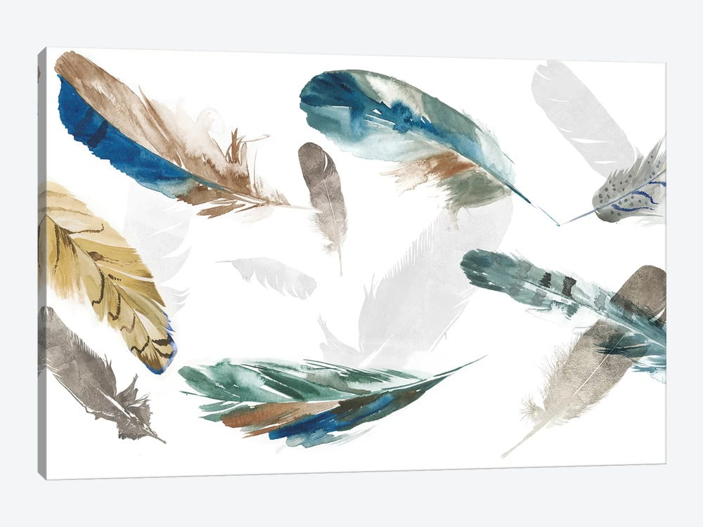 Feathery by Aimee Wilson 1-piece Canvas Art