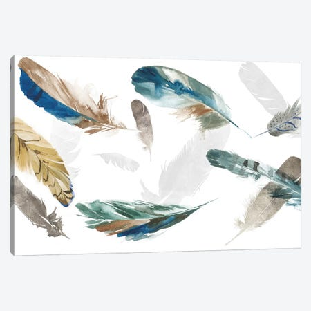 Feathery Canvas Print #AWI93} by Aimee Wilson Canvas Print
