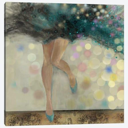 Feels Good II Canvas Print #AWI95} by Aimee Wilson Canvas Artwork