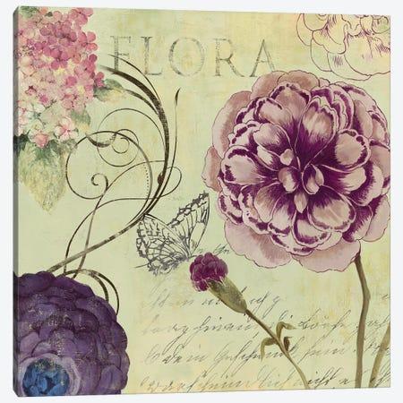 Flora Canvas Print #AWI96} by Aimee Wilson Canvas Artwork