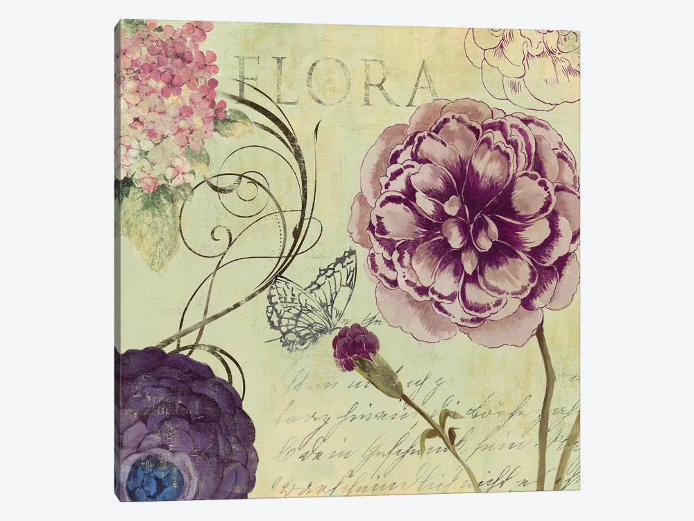 Flora by Aimee Wilson 1-piece Canvas Print
